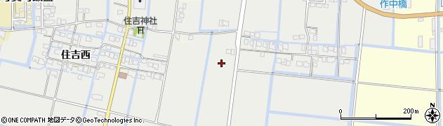 佐賀県佐賀市東与賀町大字田中周辺の地図