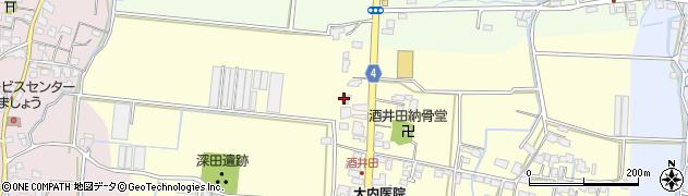 筑後通信建設株式会社周辺の地図