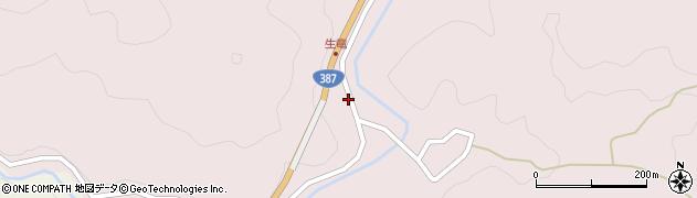 大分県玖珠郡九重町町田17周辺の地図