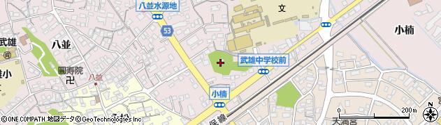 素鵞神社周辺の地図