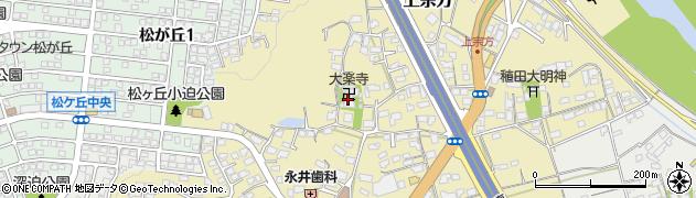 大楽寺周辺の地図