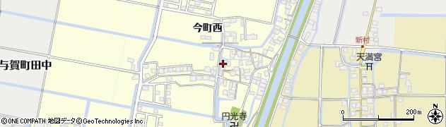 佐賀県佐賀市今町西周辺の地図