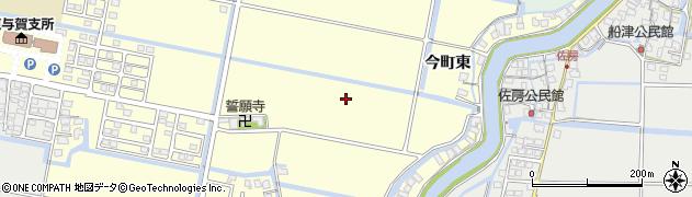 佐賀県佐賀市東与賀町大字下古賀周辺の地図