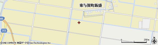 佐賀県佐賀市東与賀町大字飯盛周辺の地図