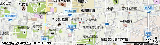 人形のいのうえ 卸部周辺の地図