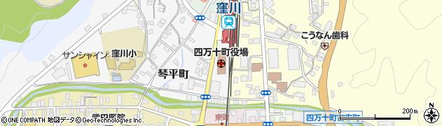 高知県四万十町(高岡郡)周辺の地図