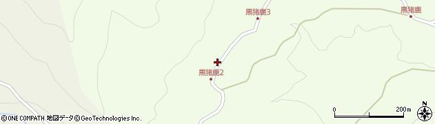 大分県玖珠郡九重町引治1693周辺の地図