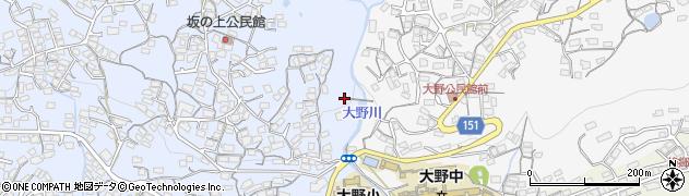 長崎県佐世保市原分町周辺の地図