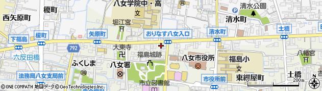 古川酒店周辺の地図