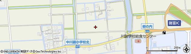 佐賀県佐賀市川副町大字福富周辺の地図
