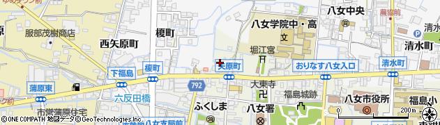 有限会社はらだ折箱店周辺の地図