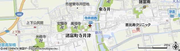 佐賀県佐賀市諸富町大字寺井津周辺の地図