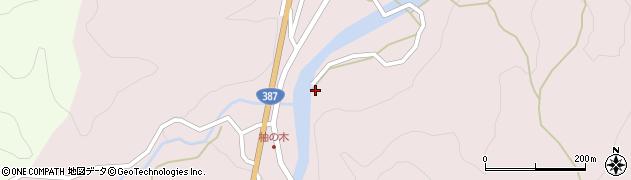大分県玖珠郡九重町町田1409周辺の地図