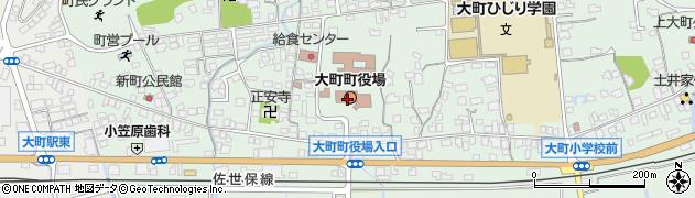 佐賀県杵島郡大町町周辺の地図