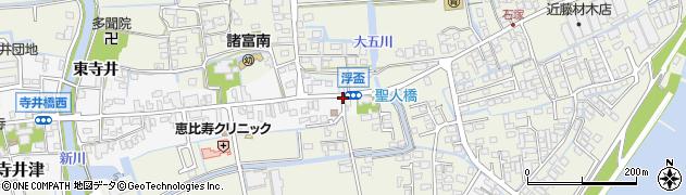 浮盃周辺の地図
