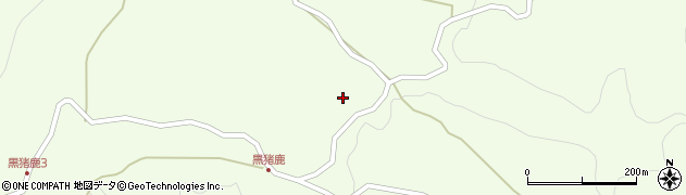 大分県玖珠郡九重町引治1805周辺の地図