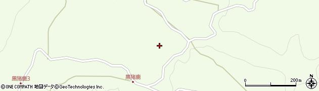 大分県玖珠郡九重町引治1803周辺の地図