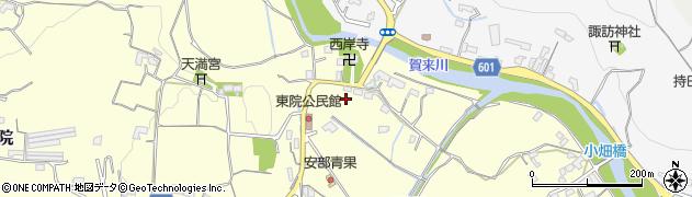 大分県大分市東院(東院)周辺の地図