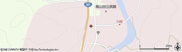 大分県玖珠郡九重町町田447周辺の地図