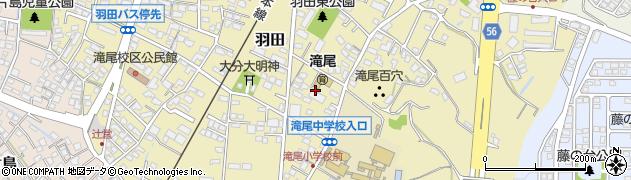 大分県大分市羽田(羽田東)周辺の地図