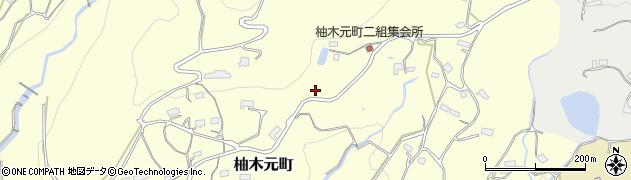 長崎県佐世保市柚木元町周辺の地図