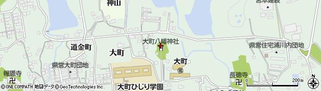 大町八幡神社周辺の地図