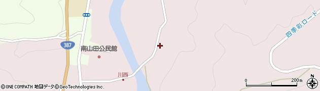 大分県玖珠郡九重町町田1182周辺の地図