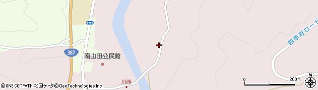 大分県玖珠郡九重町町田713周辺の地図