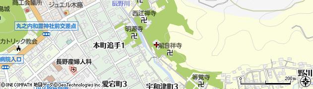 選佛寺周辺の地図
