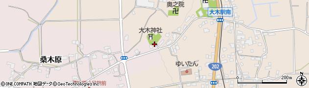 大木神社周辺の地図