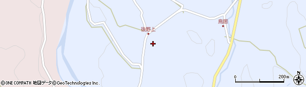 大分県玖珠郡九重町後野上569周辺の地図