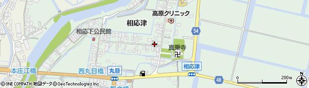 佐賀県佐賀市西与賀町(相応津)周辺の地図