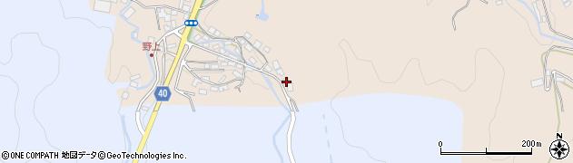 大分県玖珠郡九重町野上458周辺の地図
