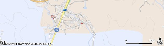 大分県玖珠郡九重町野上109周辺の地図