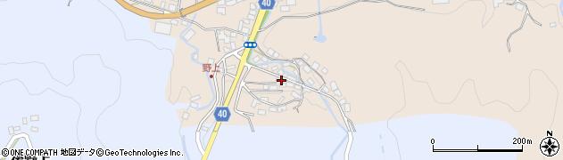 大分県玖珠郡九重町野上35周辺の地図