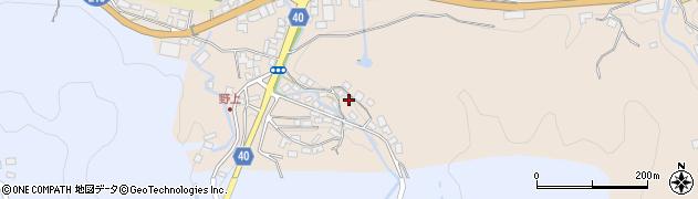 大分県玖珠郡九重町野上492周辺の地図