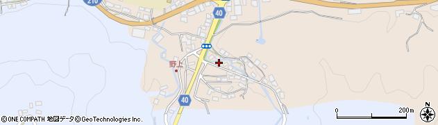 大分県玖珠郡九重町野上32周辺の地図