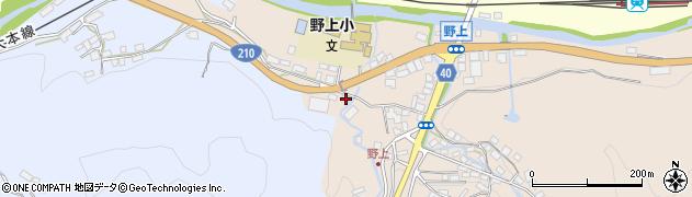 大分県玖珠郡九重町野上20周辺の地図