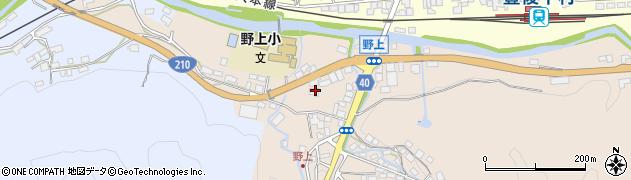 大分県玖珠郡九重町野上13周辺の地図