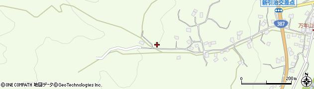 大分県玖珠郡九重町引治886周辺の地図