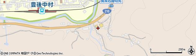 大分県玖珠郡九重町野上1295周辺の地図