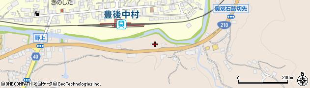 大分県玖珠郡九重町野上550周辺の地図