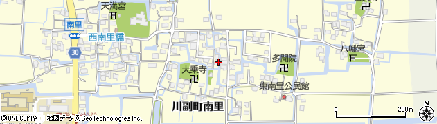 佐賀県佐賀市川副町大字南里周辺の地図