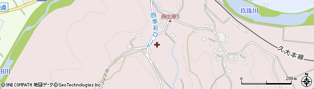 大分県玖珠郡九重町町田922周辺の地図