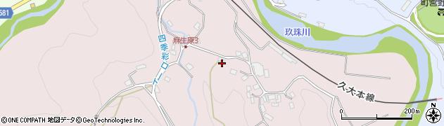 大分県玖珠郡九重町町田5310周辺の地図