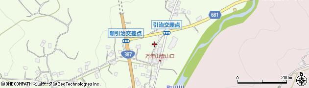 大分県玖珠郡九重町引治658周辺の地図