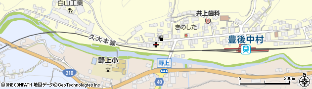 大分県玖珠郡九重町右田1029周辺の地図