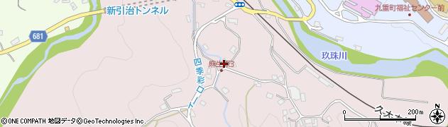 大分県玖珠郡九重町町田5439周辺の地図