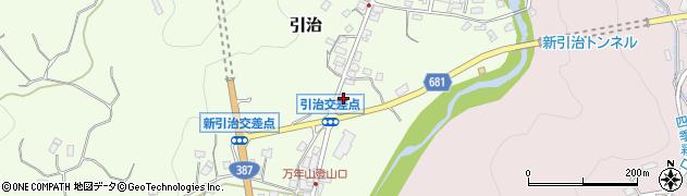 大分県玖珠郡九重町引治585周辺の地図