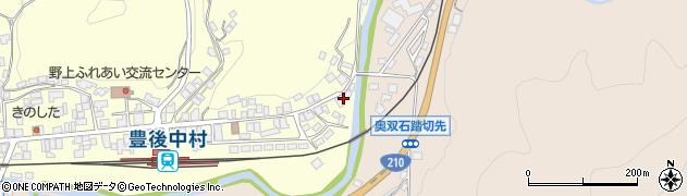 大分県玖珠郡九重町右田614周辺の地図